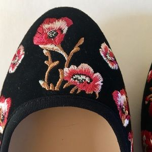 NWOT KARL LAGERFELD ballet flat shoe sz 8.5